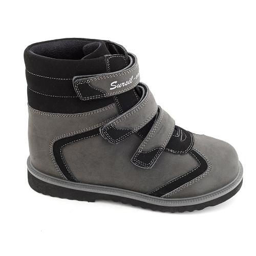 Демисезонные ортопедические ботинки для мальчика Sursil-ortho артикул 23-210