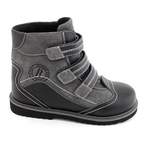 Демисезонные ортопедические ботинки для мальчика Sursil-ortho артикул 23-208-1