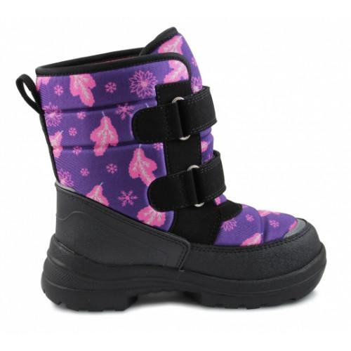 Зимние ортопедические ботинки для девочки Sursil-ortho артикул 028-6А