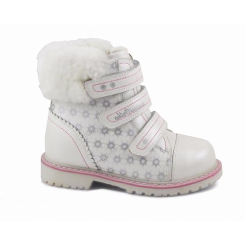 Зимние ортопедические ботинки для девочки Sursil-ortho артикул А45-077