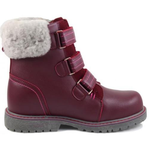 Зимние ортопедические ботинки для девочки Sursil-ortho артикул А45-078