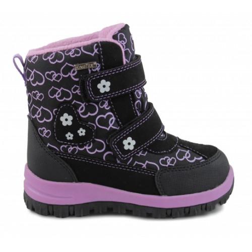 Зимние ортопедические ботинки для девочки Sursil-ortho артикул 2605-2
