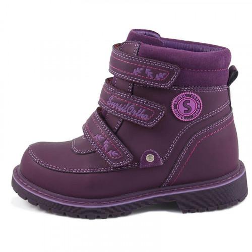 Зимние ортопедические ботинки для девочки Sursil-ortho артикул А45-014