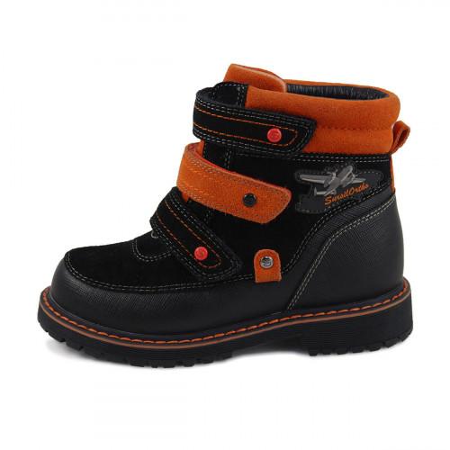 Зимние ортопедические ботинки для мальчика Sursil-ortho артикул А45-010