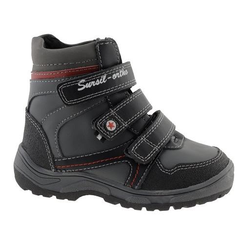 Зимние ортопедические ботинки для мальчиков Sursil-ortho артикул А43-037
