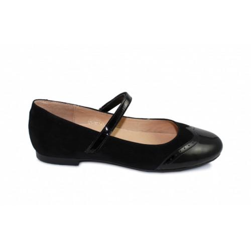 Школьные ортопедические туфли Sursil-ortho артикул 33-377-1