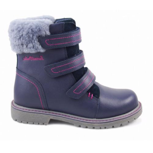 Зимние ортопедические ботинки для девочки Sursil-ortho артикул А45-062