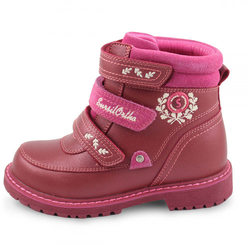 Зимние ортопедические ботинки для девочки Sursil-ortho артикул А45-016