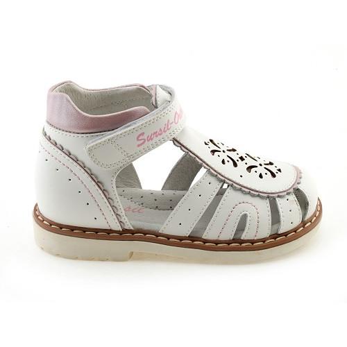 Детские ортопедические сандалии для девочек Sursil-ortho артикул 55-137