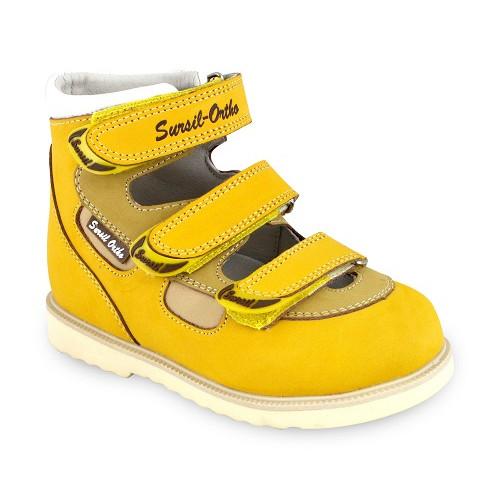 Детские ортопедические сандалии для девочек Sursil-ortho артикул 14-139