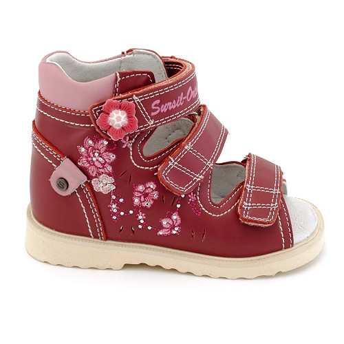 Детские ортопедические сандалии для девочек Sursil-ortho артикул 13-111