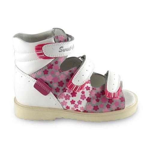Детские ортопедические сандалии для девочек Sursil-ortho артикул 15-241