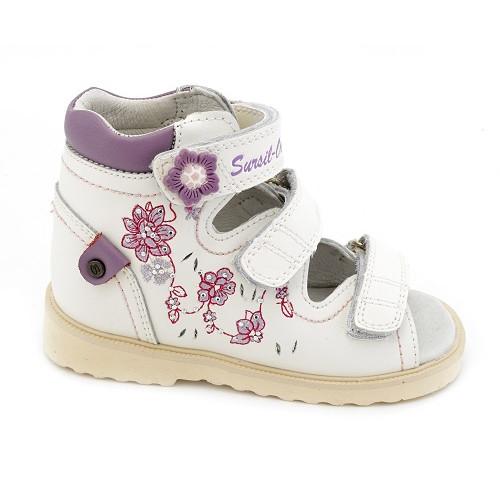 Детские ортопедические сандалии для девочек Sursil-ortho артикул 13-108