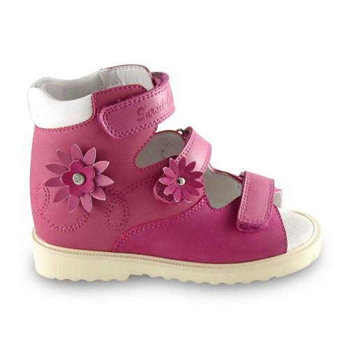 Детские ортопедические сандалии для девочек Sursil-ortho артикул 15-246