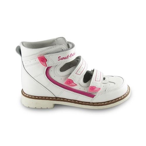 Детские ортопедические сандалии для девочек Sursil-ortho артикул 14-129