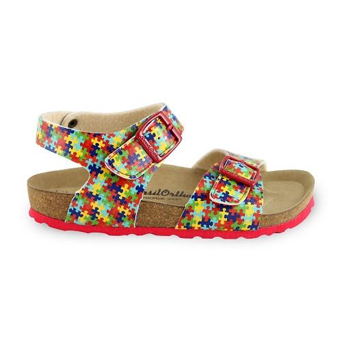 Детские анатомические сандалии для девочек Sursil-ortho артикул 12-126
