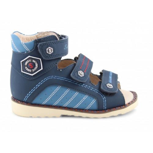 Детские ортопедические сандалии для мальчиков Sursil-ortho артикул 15-255
