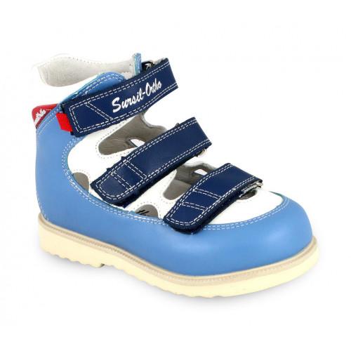 Детские ортопедические сандалии для мальчиков Sursil-ortho артикул 14-128-3