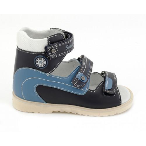 Детские ортопедические сандалии для мальчиков Sursil-ortho артикул 13-103