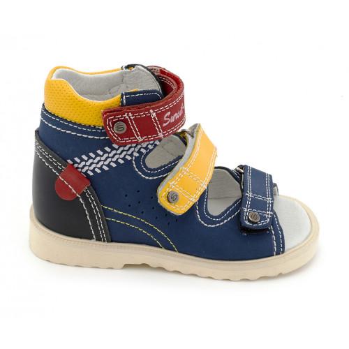 Детские ортопедические сандалии для мальчиков Sursil-ortho артикул 13-101