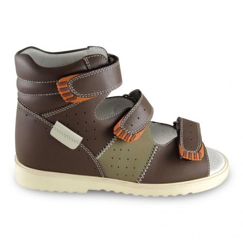 Детские ортопедические сандалии для мальчиков Sursil-ortho артикул 15-257