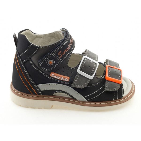 Детские ортопедические сандалии для мальчиков Sursil-ortho артикул 55-139