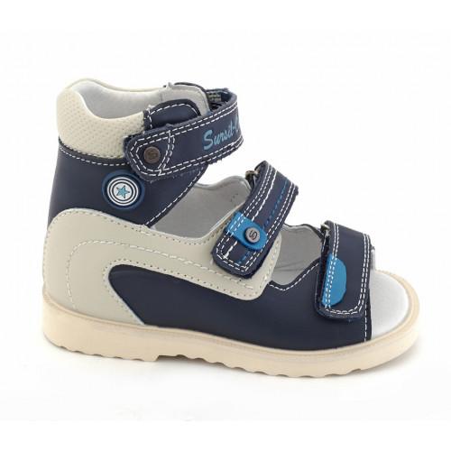 Детские ортопедические сандалии для мальчиков Sursil-ortho артикул 13-118