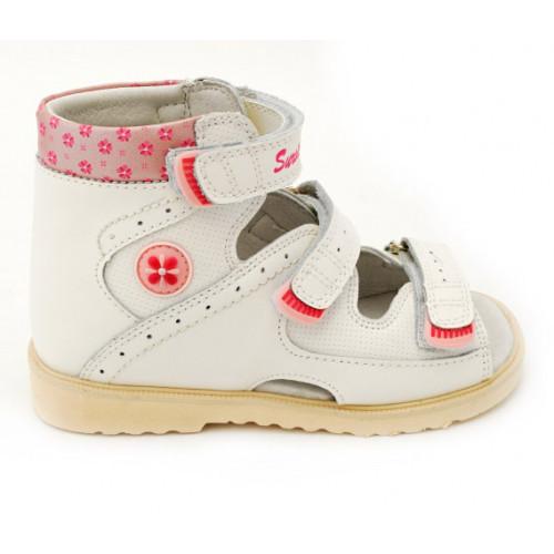Детские ортопедические сандалии для девочек Sursil-ortho артикул 13-115