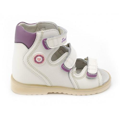 Детские ортопедические сандалии для девочек Sursil-ortho артикул 13-116