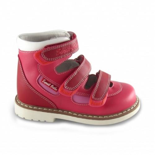 Детские ортопедические сандалии для мальчиков Sursil-ortho артикул 14-136