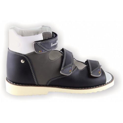 Детские ортопедические сандалии для мальчиков Sursil-ortho артикул 15-256