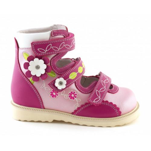 Детские ортопедические сандалии для девочек Sursil-ortho артикул 13-121