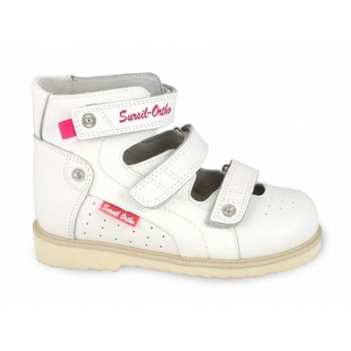 Детские ортопедические сандалии для девочек Sursil-ortho артикул 14-133