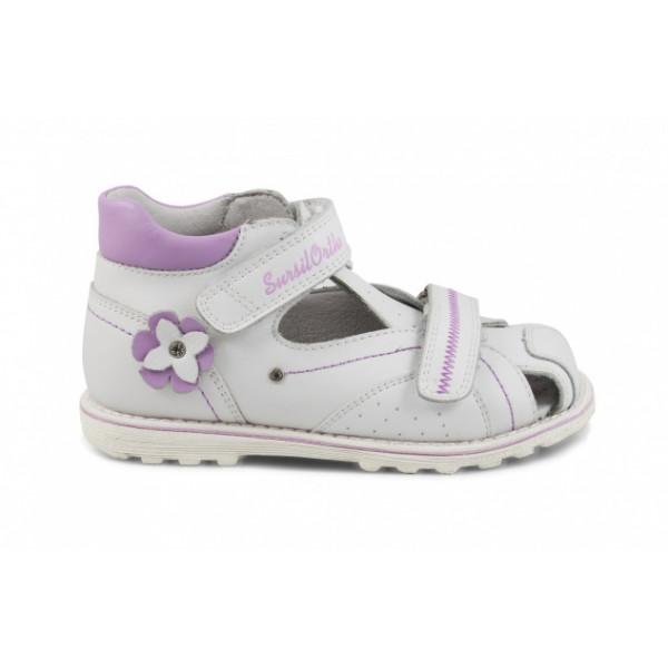 Детские ортопедические сандалии для девочек Sursil-ortho артикул 55-318