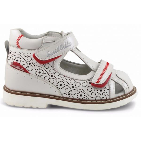 Детские ортопедические сандалии для девочек Sursil-ortho артикул 55-310