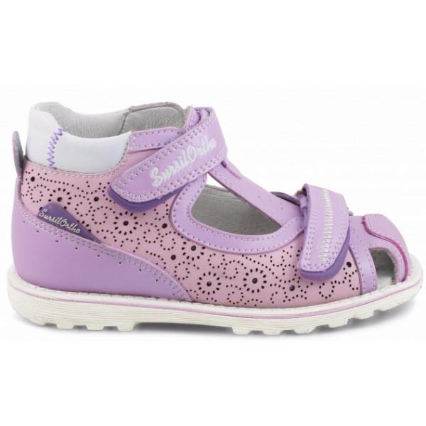 Детские ортопедические сандалии для девочек Sursil-ortho артикул 55-311