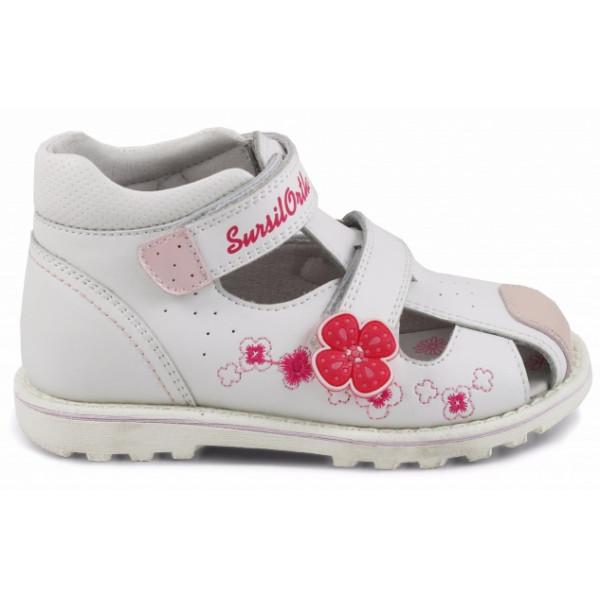 Детские ортопедические сандалии для девочек Sursil-ortho артикул 55-313
