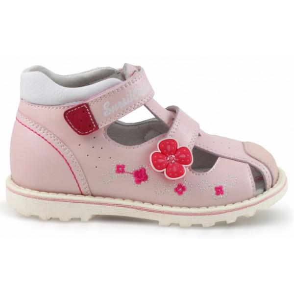 Детские ортопедические сандалии для девочек Sursil-ortho артикул 55-314