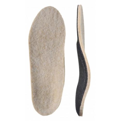 Детские ортопедические стельки с покрытием из натуральной шерсти «ЗИМА»