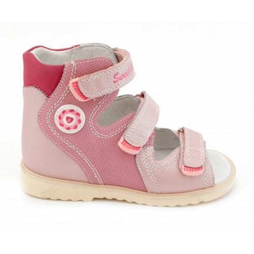Детские ортопедические сандалии для девочек Sursil-ortho артикул 13-114