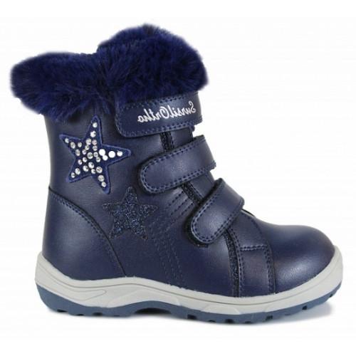 Зимние ортопедические ботинки для девочки Sursil-ortho артикул А45-092