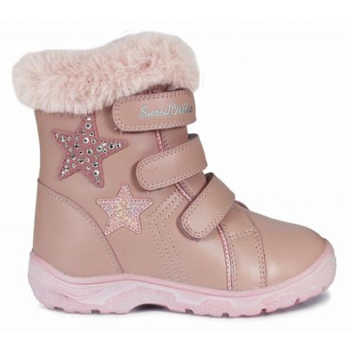 Зимние ортопедические ботинки для девочки Sursil-ortho артикул А45-093