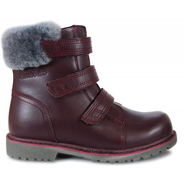 Зимние ортопедические ботинки для девочки Sursil-ortho А45-098