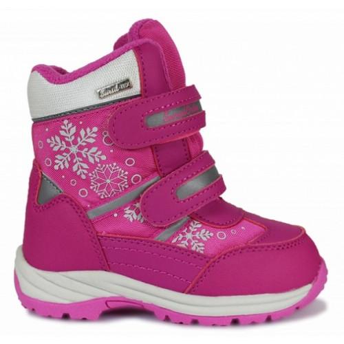 Ортопедические ботинки на зиму для девочки Sursil-ortho артикул A45-109