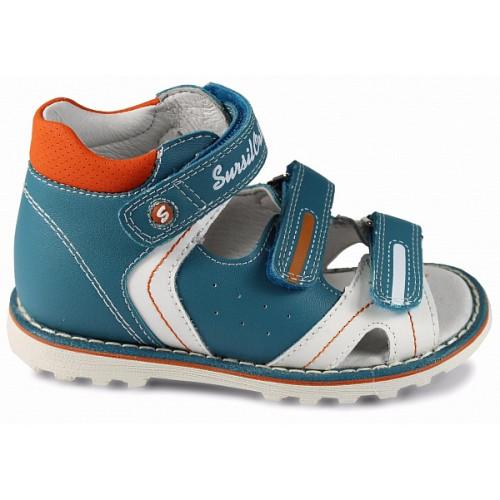 Детские ортопедические сандалии для мальчиков Sursil-ortho артикул 55-143