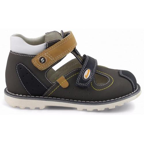 Детские ортопедические сандалии для мальчиков Sursil-ortho артикул 55-145