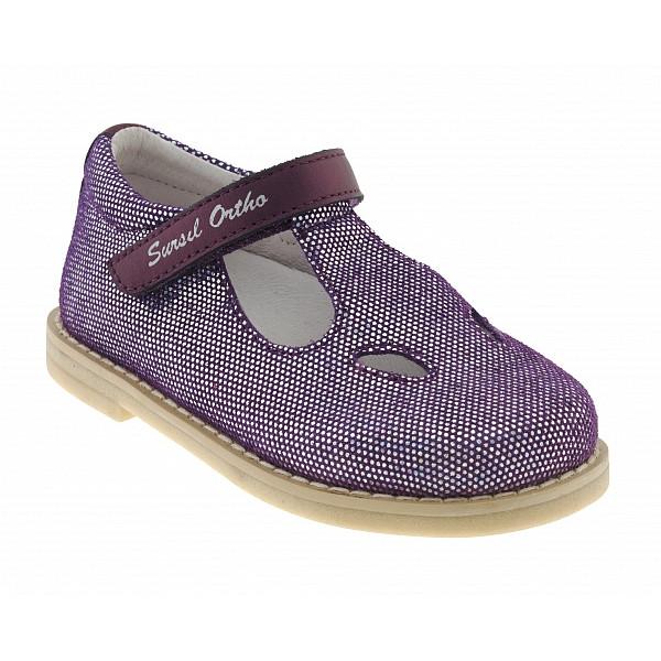 Ортопедические туфли для девочек Sursil-ortho артикул 55-173