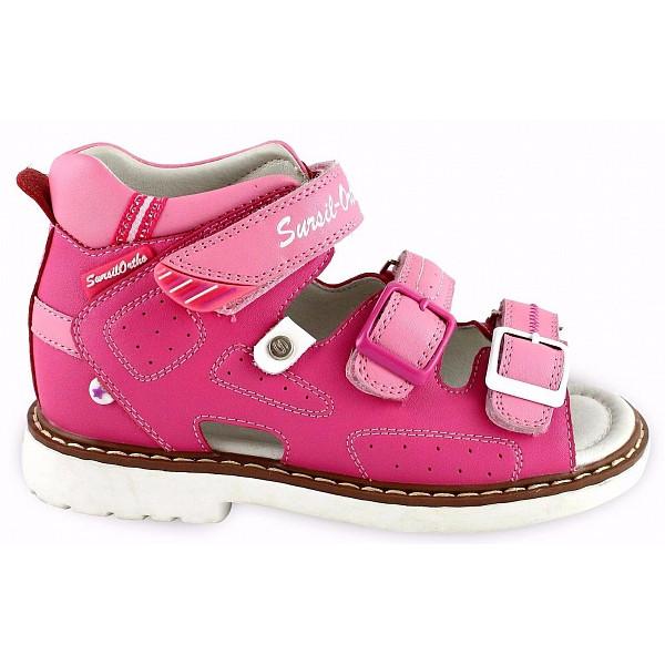 Детские ортопедические сандалии для девочек Sursil-ortho артикул 55-178