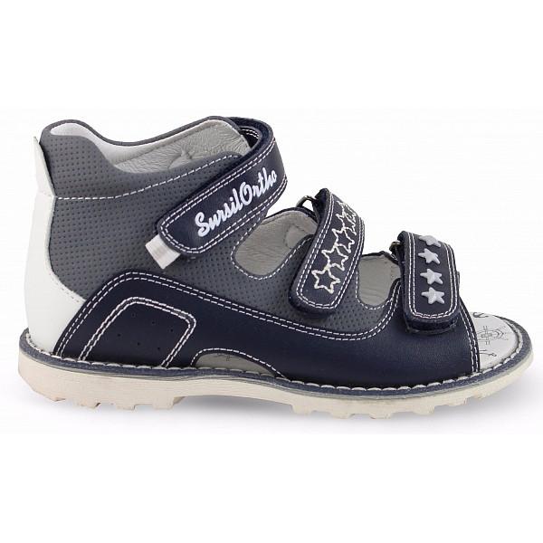 Детские ортопедические сандалии  Sursil-ortho артикул 55-192