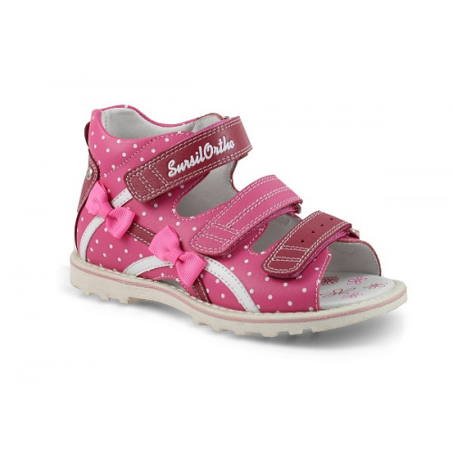 Детские ортопедические сандалии для девочек Sursil-ortho артикул 55-197S
